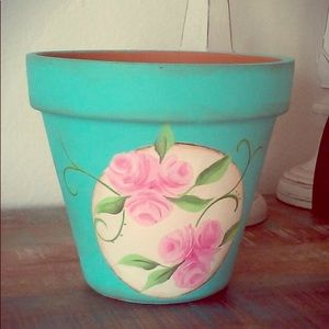 Other - hand-painted clay pots
